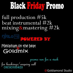 Black Friday Promo_music production