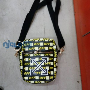 Off white side bag