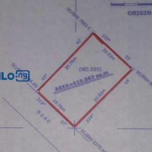 Ten (10) plots of land for sale in Nsukka town