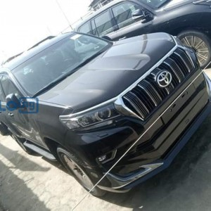 Toyota prado 2020 model black