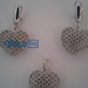 Sunbelle earrings with pendant