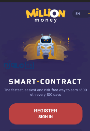 money-bills-itself-as-a-smart-contract-that-provides-the-fastest-easiest-and-risk-free-way-to-earn-1500-eth-every-100-days-big-0