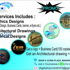 A professional 3D logo and business card can make your business stand out. Message us now
