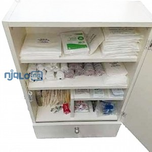 Wall Mounted First Aid Box - Large