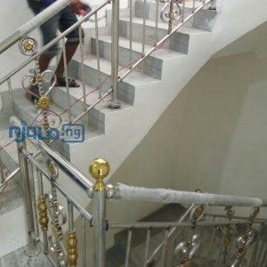 Wall Papers Interior, Window Blinds, POP Ceilings, Stainless steel handrails Installation In Nigeria