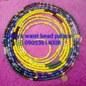 Waist beads and anklets