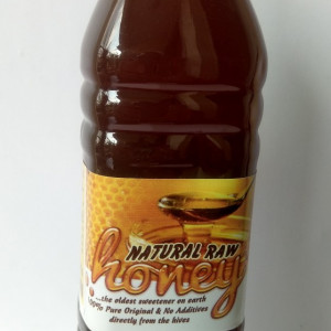 NATURAL RAW HONEY -50cl (670g)