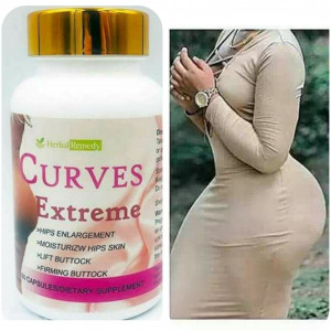 Curves Extreme Herbal Remedy Butt Enlargement Maca Pills