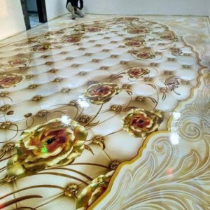3D EPOXY FLOORING, MARBLE AND PVC WALLPAPERS