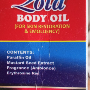 Oil, health,pain relief