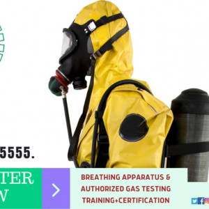 BREATHING APPARATUS AND GAS TESTING TRAINING