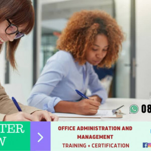 OFFICE ADMINISTRATION AND MANAGEMENT TRAINING