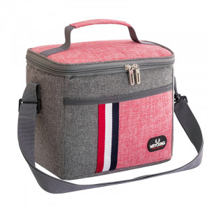 Compact, Insulated Lunch Bag - Pink