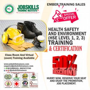 GENERAL HEALTH, SAFETY & ENVIRONMENT TRAINING (HSE LEVEL 1,2 AND 3