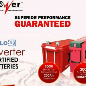 Ipower 200ah solar batteris