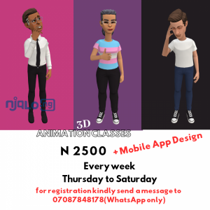 Animation Advanced Training + Mobile App Development