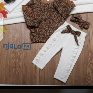 Kiddies pant and blouse
