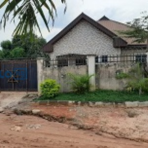 A two flats 3 bedroom bungalow for sale