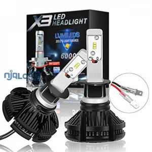 X3 Car Led Headlight Bulb - H1
