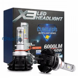 X3 Car Led Headlight Bulb - H7