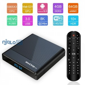 Wechip V9 | 4GB RAM + 64GB ROM | Android 9.0 TV Box