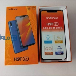 Neat used infinix hot 6x for sale