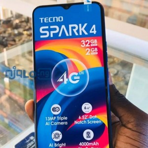 Techno spark 4 with 2gb for sale