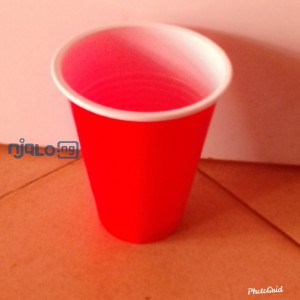 Disposable plastic party cups-50pcs