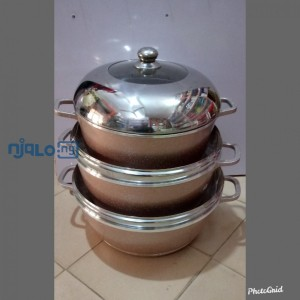Tri-Star cooking pot