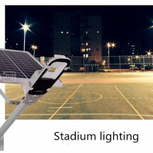Solar led street light.