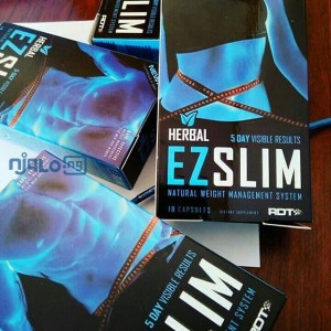 6 Packs of EZ Slim Herbal Weight Loss Capsule