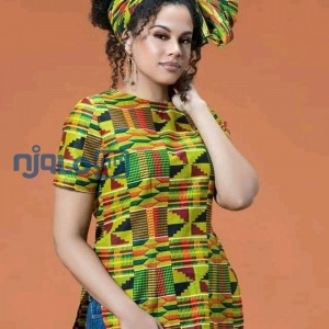 Bespoke Kente Tops(Ghana wears) for Ladies
