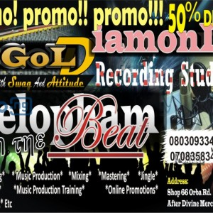 Music production promo 50% discount