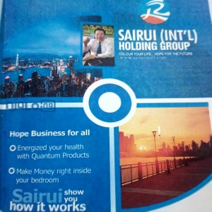 WHILE AT HOME INVEST IN SAIRUI E-COMMERCE, GET 7.5% INTEREST EVERY 10 DAYS. NO HAWKING, NO COMPULSORY REFERRAL.CALL 08106362299 FOR DETAIL.