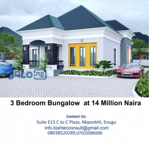 3bedroom bungalow